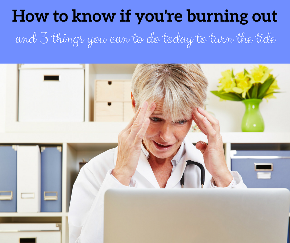 How to know if you're burning out